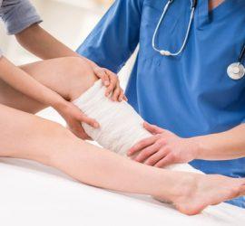 Pacientė Kauno ortopedijos klinikoje